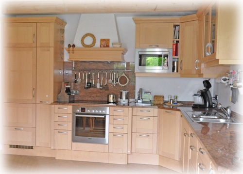 Echtholzküche Innenarchitektur und Möbel Inspiration